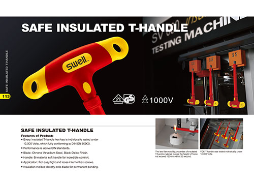 Safe Insulated T-Handle