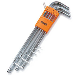 077 Extra Long Arm Ball Point Hex Key Set