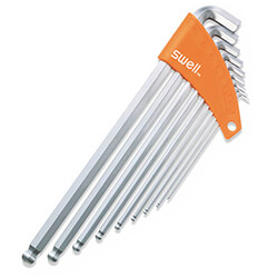 011 Telstar Stubby / Extra Long Arm Ball Point Hex Key Set